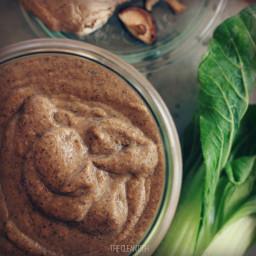 Vegan Shiitake Oyster Sauce (grain free and gluten free)