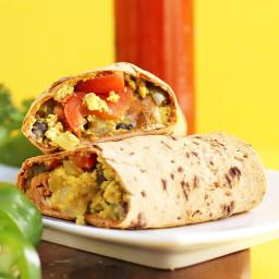 Vegan Southwest Breakfast Burrito
