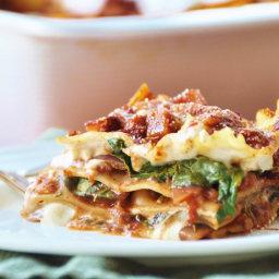 Vegan Spinach Lasagna