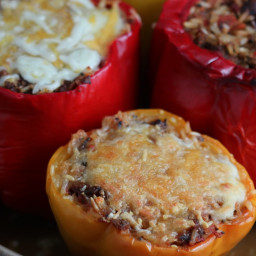 Vegan Stuffed Peppers with Plant-Based Protein