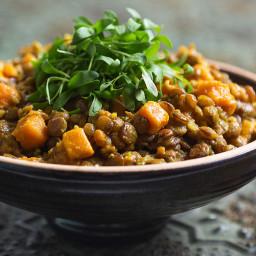 Vegan Sweet Potato Dal