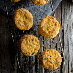 Vegan Thai Red Curry Biscuits