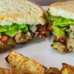 Vegan Turkey Salad