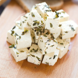 Vegan Tofu Feta Cheese