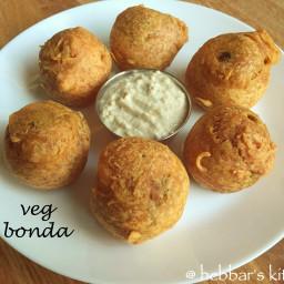 vegetable bonda recipe | mixed vegetable bonda recipe