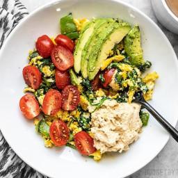 Vegetable Breakfast Scrambles