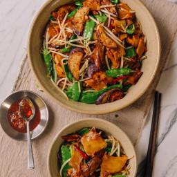 Vegetable Chow Fun