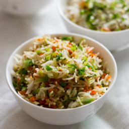 Vegetable Fried Rice, Easy Fried Rice Recipe