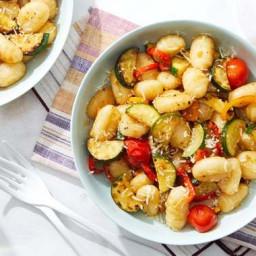 Vegetable Gnocchi with Grana Padano Cheese