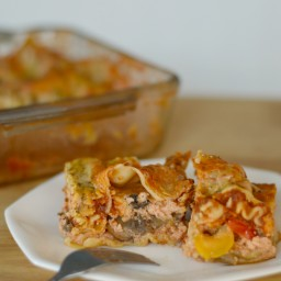 Vegetable Lasagna with Robust Tomato Sauce