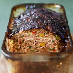 Vegetable Meatloaf with Balsamic Glaze
