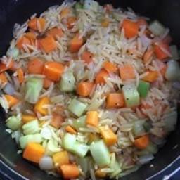 Vegetable Orzo