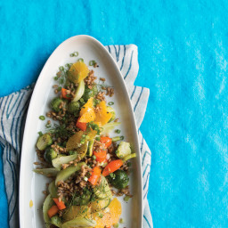 Vegetables with Farro