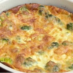 Vegetarian Broccoli-Cheese Pie