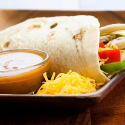 Vegetarian Fajitas with Portabello Mushroom