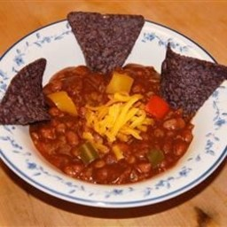 Vegetarian Pumpkin Chili