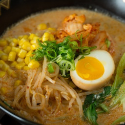 Vegetarian Ramen - Spicy Soy Milk Ramen