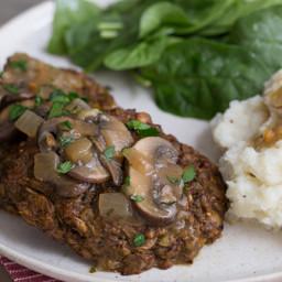 Vegetarian Salisbury Steaks