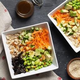 Vegetarian Sushi Grain Bowl Recipe