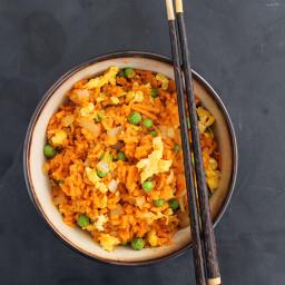 Vegetarian Sweet Potato Fried Rice