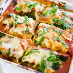 Vegetarian Zucchini and Eggplant Lasagna