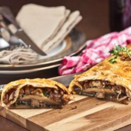 Vegetarian Mushroom Wellington recipe