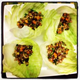 Vegetarian/Vegan San Choi Bao