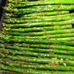 Veggie: Asparagus with Dijon-Lemon Sauce