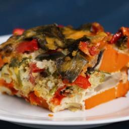 Veggie Breakfast Casserole Recipe by Tasty