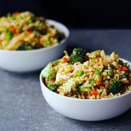 Veggie No-Fried Rice Meal Prep