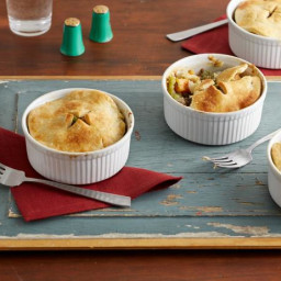 Veggie Pot Pie with Cornmeal Pie Crust