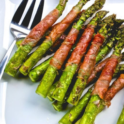 Veggie - Proscuitto Wrapped Asparagus