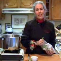 Veggie Queen's 5-minute Vegetable Stock
