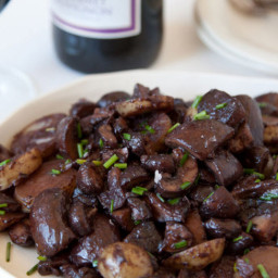 Veggie - Red Wine Mushrooms
