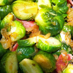 Veggie- Brussels Sprouts with Bacon
