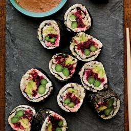 Veggie Sushi with Cauliflower Rice