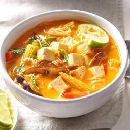 Veggie Thai Curry Soup