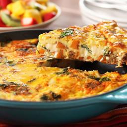 VELVEETA® Frittata with Chorizo