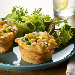 VELVEETA® Quick Chicken Pot Pie Minis