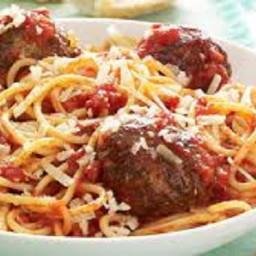 Menu Veninata Sgetti and Meatballs