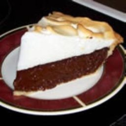 Vern's Chocolate Pie