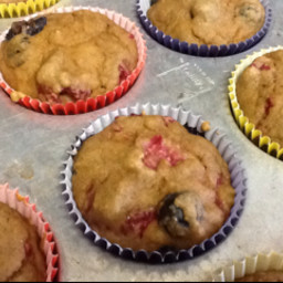 Very Berry Muffins (Vegan)