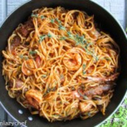 Very easy Spaghetti jollof