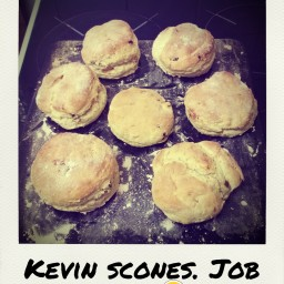 Very fluffy scones