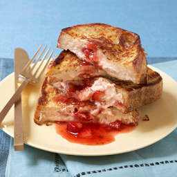 Very Strawberry Stuffed French Toast