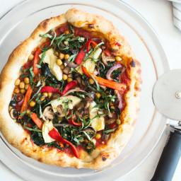 Very Veggie Vegan Pizza