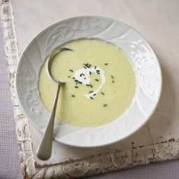 Vichyssoise - Chilled Potato and Leek Soup