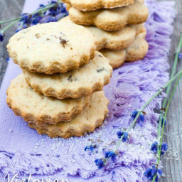 Victorian Lavender Cookies with Rose Water Icing