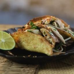 Vietnamese Chicken Tacos