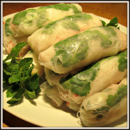 Vietnamese Fresh Rolls with Shrimp